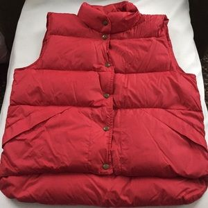 LIKE NEW LL Bean Down Puffer Vest!